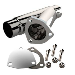 QUICK TIME PERFORMANCE #10225 2.25 Inch Stainless Steel Exhaust Cutout
