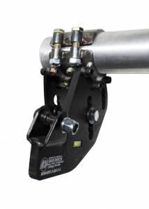 WEHRS MACHINE #WM400-4-I-L-5 Trailing Arm Bracket LR 2-Link 5in Drop