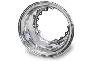 KEIZER ALUMINUM WHEELS INC #159 Outer Wheel Half 15x9 Wide 5 Polished