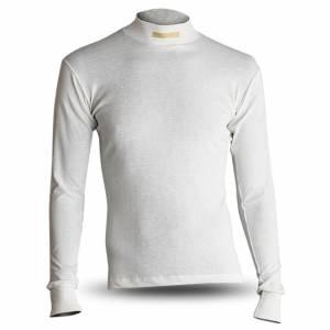 MOMO AUTOMOTIVE ACCESSORIES #MNXHCCTWHL00 Comfort Tech High Collar Shirt White Large