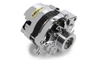 TUFF-STUFF #7937AST6G GM Alternator 120 Amp Chrome 6 Goove Pulley