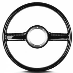 LECARRA STEERING WHEELS #71000 Steering Wheel Mark 10 Black w/Plastic Grip