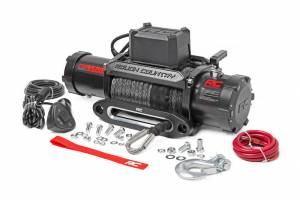 ROUGH COUNTRY #PRO9500S 9500lb Pro Series Electric Winch Synthetic Rope