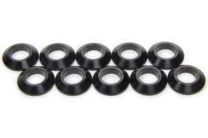 MPD RACING #MPD41006 1in Cone Spacer 10 pack Aluminum - Black
