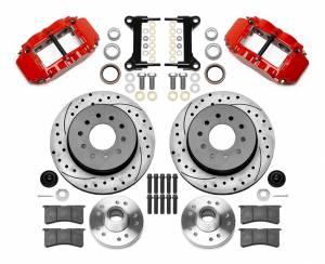 WILWOOD #140-15948-DR Brake Kit Front GM C1500 88-98 5 Lug 12.19in Rtr