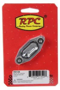 RACING POWER CO-PACKAGED #R5134 Oil Cooler Port Block Off Plate Billet