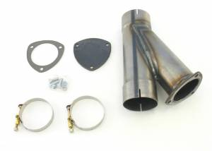 PATRIOT EXHAUST #H1135 Exhaust Cut-Out Hook-Up Kit (Single)