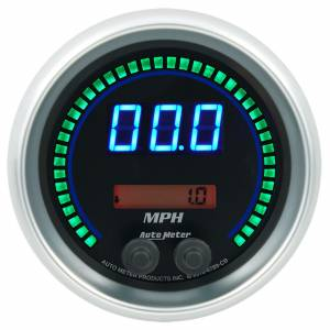 AUTO METER #6789-CB 3-3/8 Speedometer 260mph Elite Digital CB Series