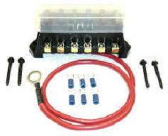 FASTRONIX SOLUTIONS #500-011 COVERED FUSE BLOCK