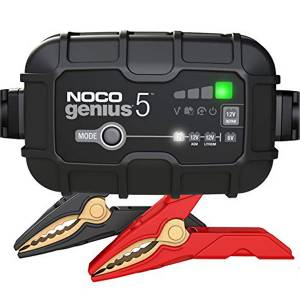 NOCO #GENIUS5 Battery Charger 5 Amp