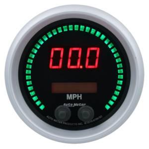 AUTO METER #6789-SC 3-3/8 Speedometer 260mph Elite Digital SC Series