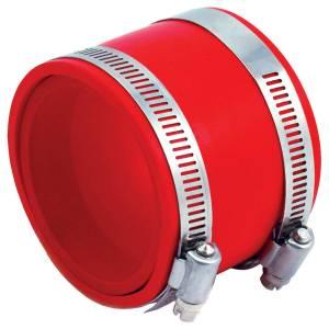 SPECTRE #SPE-8772 Coupler 3in PVC w/Red Insert