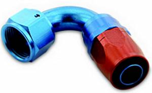 A-1 PRODUCTS #A1P01206 Hose End #6 120 Degree Swivel