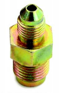 A-1 PRODUCTS #A1P1071604 7/16-24 to #4 Stl Invert Male Flare Adapter