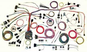 AMERICAN AUTOWIRE #500886 67-68 Firebird Wire Harness System