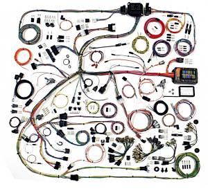 AMERICAN AUTOWIRE #510634 68-70 Mopar B-Body Wiring Harness