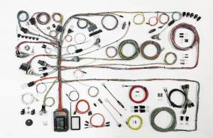 AMERICAN AUTOWIRE #510651 57-60 Ford Truck Wiring Harness