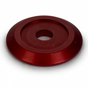DIRT DEFENDER RACING PRODUCTS #3009 Body Washer Red Alum (20pk) Anodized