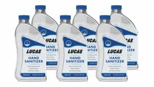 LUCAS OIL #11175 Hand Sanitizer Case 6 x 64oz Bottles