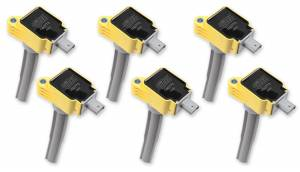 ACCEL #140773-6 Coil - Ford 2.7L V6 EcoBoost 6pk - Yellow