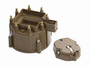ACCEL #8122 Gm Cap/Rotor Kit TAN