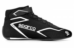 SPARCO #00127544NRNR Shoe Skid Black Size 10-10.5 Euro 44
