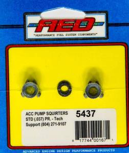 .037in Accelerator Pump Squirters