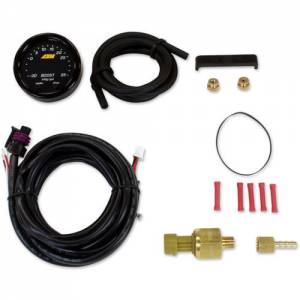 AEM #30-0308 X-Series Boost Pressure Gauge -30-60psi