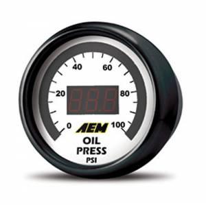 AEM #30-4401 Oil/Fuel Pressure Digital Gauge 0-100psi
