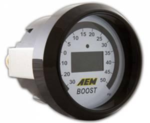 AEM #30-4408 Boost Digital Gauge -30 to 50psi