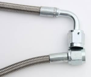 AEROQUIP #FBPA0049-50  -04 Teflon Hose 50in Str-90 Deg