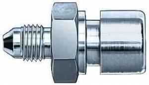 AEROQUIP #FCM2945 #3 To 10mmx1.0mm Female Steel Adapter