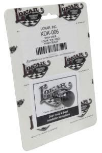 LOKAR #XDK-006 Dash Knob Lokar 3/16 In Hole Black