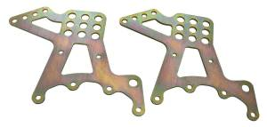 AFCO RACING PRODUCTS #20406 Q/C Upper Link Brackets Steel 1pr