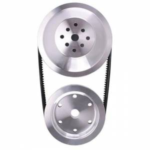 AFCO RACING PRODUCTS #80061 Pulley Kit 20% Red. SBC Long Water Pump