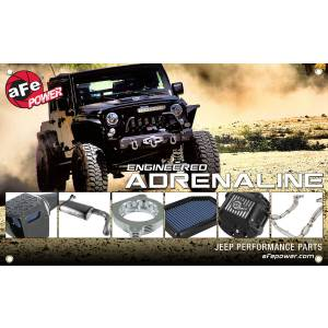 Marketing Material Banne r Jeep Wrangler (JK) * CLOSEOUT ITEM CALL 1-800-603-4359 FOR BEST PRICE
