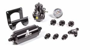 AEROMOTIVE #17350 Stealth Bypass EFI Fuel System Kit Dual Rail 17350