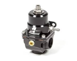 AEROMOTIVE #13305 X1 Fuel Regulator Black 35-75psi w/.313 Seat