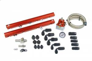 AEROMOTIVE #14102 Fuel Rail Kit - 86-95 Ford 5.0L Mustangs