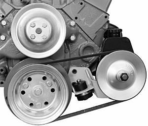 ALAN GROVE COMPONENTS #404L 55-57 Chevy SB P/S BRKT Brkt
