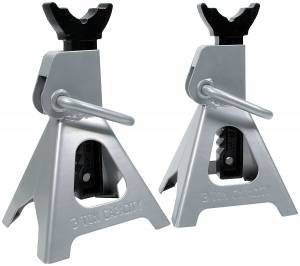 ALLSTAR PERFORMANCE #ALL10124 Jack Stands 1pr 3 Ton Ratchet