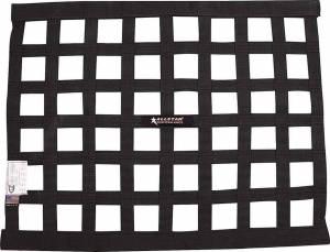 ALLSTAR PERFORMANCE #ALL10285 Window Net Border Style 18 x 24 SFI Black