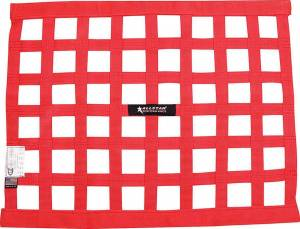 ALLSTAR PERFORMANCE #ALL10287 Window Net Border Style 18 x 24 SFI Red