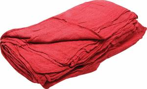 ALLSTAR PERFORMANCE #ALL12010 Shop Towels Red 25pk
