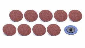 ALLSTAR PERFORMANCE #ALL12107 Twist Lock Sanding Disc 2in 120 Grit 10pk