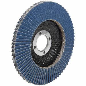 ALLSTAR PERFORMANCE #ALL12123 Flap Disc 120 Grit 4-1/2in with 7/8in Arbor