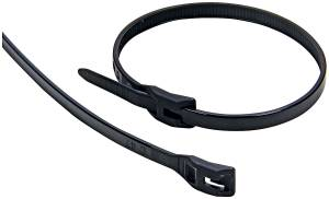 ALLSTAR PERFORMANCE #ALL14396 Wire Ties Black 11.00 Flush Fit 100pk