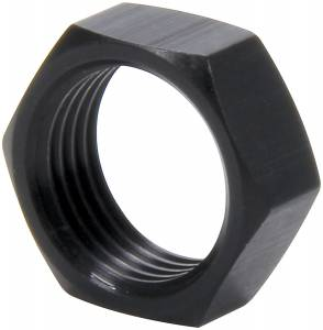 ALLSTAR PERFORMANCE #ALL18286 5/8-18 RH Alum Jam Nuts Thin OD Black 4pk