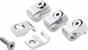 ALLSTAR PERFORMANCE #ALL18321 2pc Alum Line Clamps 1/4in 4pk