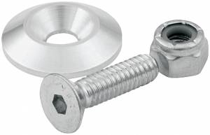 ALLSTAR PERFORMANCE #ALL18632 Countersunk Bolts 1/4in w/ 1in Washer 10pk